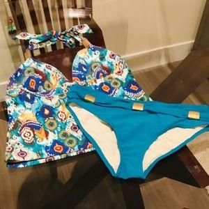 Tankini and Bikini size M
